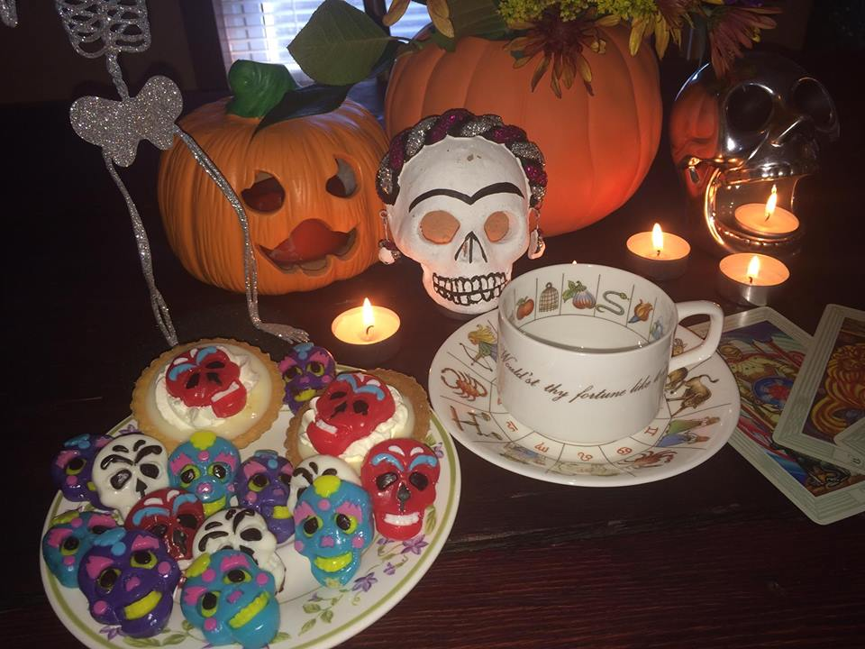 Day of the Dead Tea & Tarot party~ with Medium MarVeena Meek