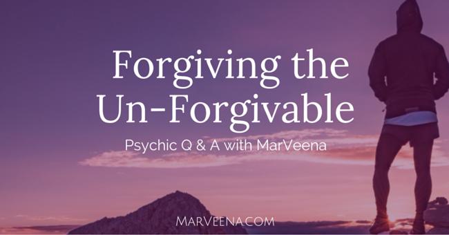 forgiveness, Psychic Medium MarVeena Meek, Spiritual Vibrancy, Self-Mastery Bootcamp