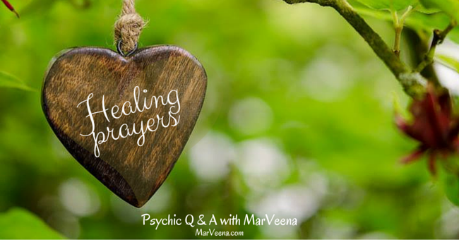 Psychic Q & A 82 with MarVeena Healing Prayers