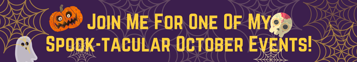 Join Psychic Medium MarVeena Meek For One Of Her Spook-tacular October Events!