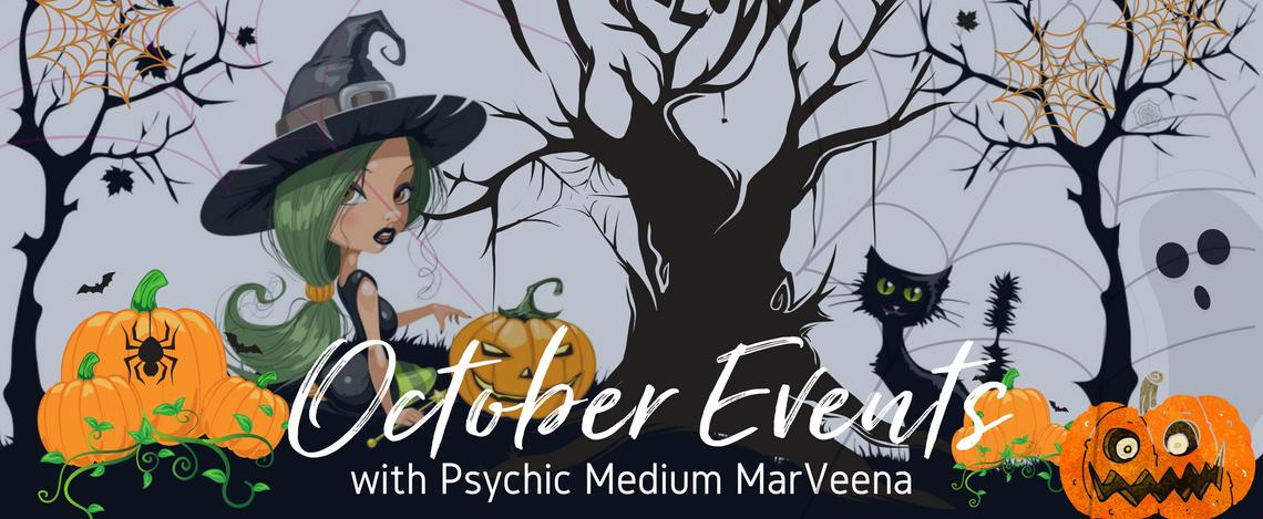 Halloween Events Dallas TX, Psychic Medium MarVeena Meek