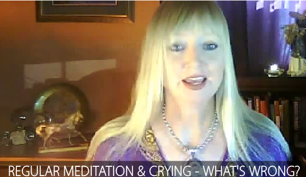 Psychic Q & A 9 Crying & Regular Meditation What's Wrong NP