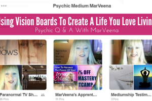 Psychic Q & A With MarVeena #83 Vision Board