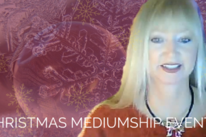 christmas mediumship events with Psychic Medium MarVeena Meek